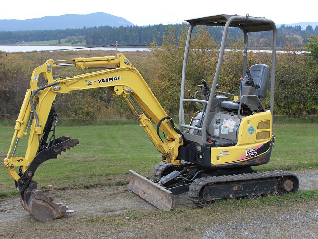 dirt digger machine