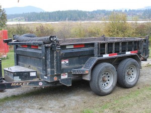 Dirty Digger Contracting Services - Dump Trailer