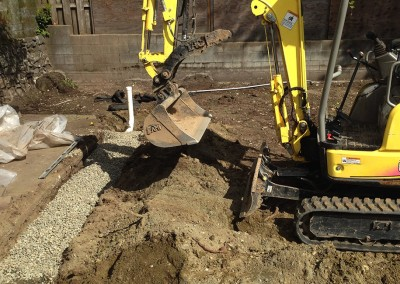 Dirty Digger Contracting drainage services Victoria Duncan Nanaimo BC